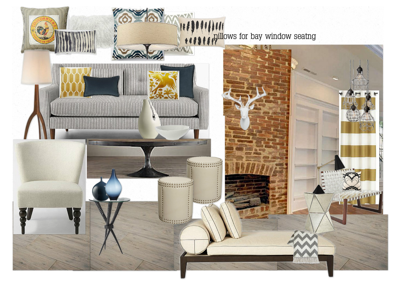 Olioboard west elm competition island girl glam for West elm living room ideas
